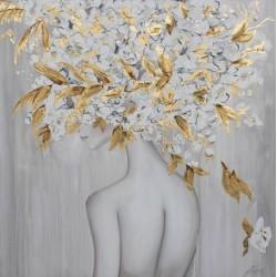 """Cuadro """"Mujer árbol"""""""