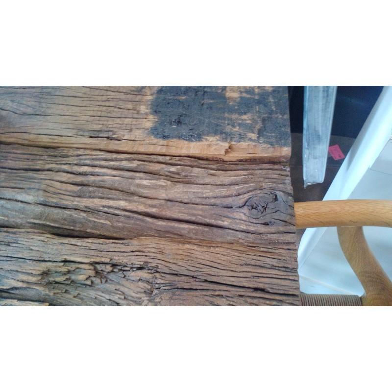 Mesa de centro madera reciclada - Terraendins
