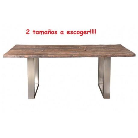 Mesa madera de ferrocarril - Terraendins