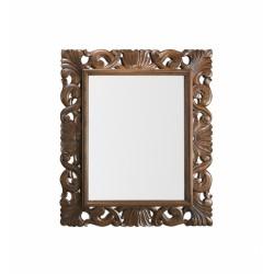 Espejo marco tallado