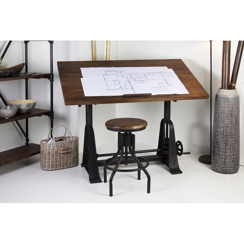 Mesa escritorio arquitecto terraendins - Mesas de arquitectura ...