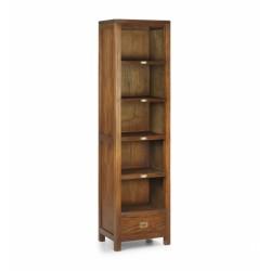 Librería estrecha madera