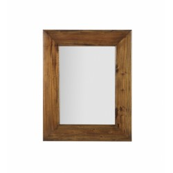 Espejo madera colonial