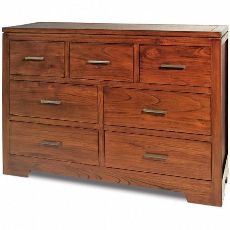 C moda madera nogal terraendins - Muebles igualada ...