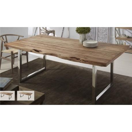 Mesa madera reciclada 180cm o 215cm