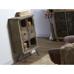 Mueble tipo antiguo 47x25x84cm