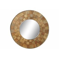 Espejo madera de mango Ø91cm
