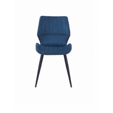 Silla azul 55x46x84cm