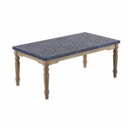Mesa café mosaico 110x60x45