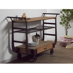Mueble camarera madera 160x55x108cm