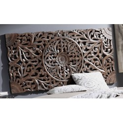 Cabecero/talla madera 160x80cm