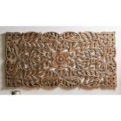 Cabezal/talla madera 160x80cm