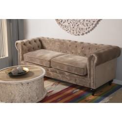 Sofá Chester 3 pl. 197 x 77 x 70 cm.