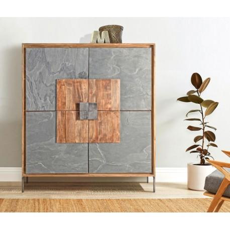Mueble Auxiliar 120x40x137 cm.