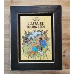 Cuadro portada Tintin 22x17 L'AFFAIRE TOURNESOL