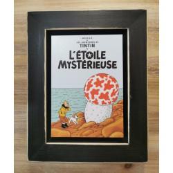 Cuadro portada Tintin 22x17 L'ÉTOILE MYSTÉRIEUSE