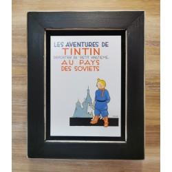 Cuadro portada Tintin 22x17 AU PAYS DES SOVIETS
