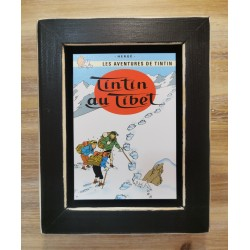 Cuadro portada Tintin 22x17 TINTIN AU TIBET