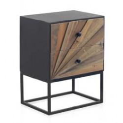 Mesita madera abeto 48x35x61cm