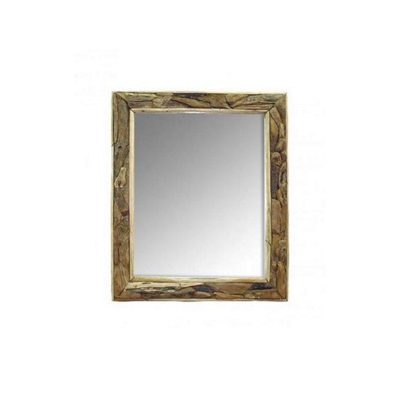 Espejo r stico terraendins for Espejos grandes de madera