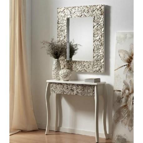Espejo plateado 2 tama os terraendins for Espejos de pared baratos online