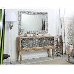 Mueble recibidor plata terraendins - Muebles igualada ...