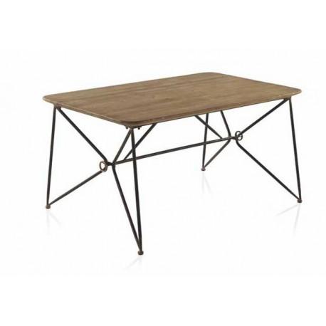 Mesa madera y metal - Terraendins