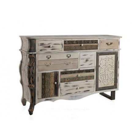 Aparadores modernos comedor beautiful aparador moderno - Mueble almacenaje cocina ...
