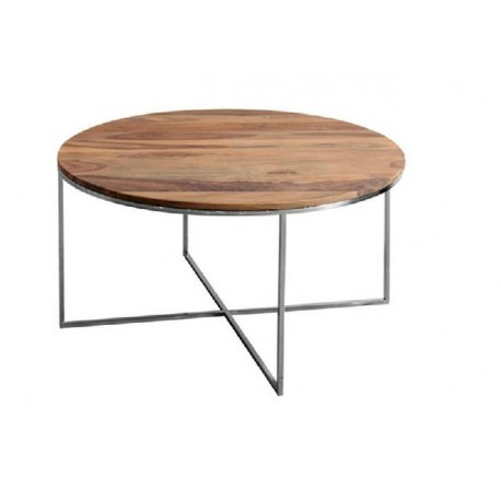 Mesa caf redonda terraendins - Mesas para delante del sofa ...